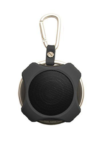 Portable Bluetooth Speaker Lil' Snapper (Black) - Best in Class Sound - Rugged for Outdoor Use - Satisfaction Guaranteed. Charges with standard USB micro cable. First-in-class small speaker sound. 40mm, 3W speaker. Easy connection and music play control. IPX5 water resistance.