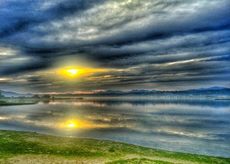 Knysna lagoon from Leisure Island