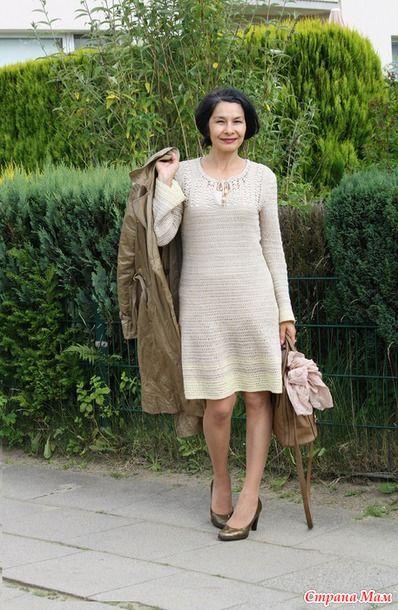 Подбор платьев и туник за 4 года вязания. -Часть 2