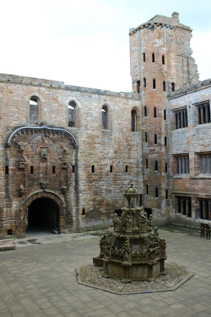#Linlithgow #Palace birthplace of Mary, Queen of Scots in 1542