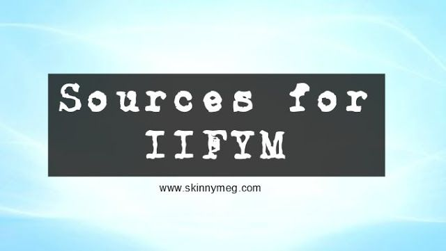 IIFYM Sources of Information.