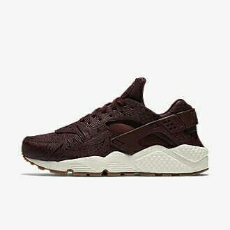 Compare and buy the Nike Air Huarache Premium Red for women at the best  price in the best European stores.