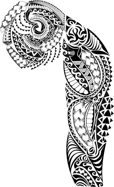 Half Sleeve Tribal Tattoo Design | Tribal Half Sleeve Tattoos for Women | Half…