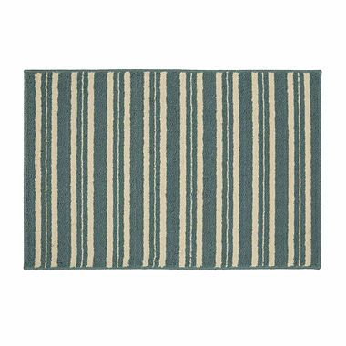 "$18 - JCPenney Home™ Kitchen Stripe Rectangular Rug - 20""x30"""