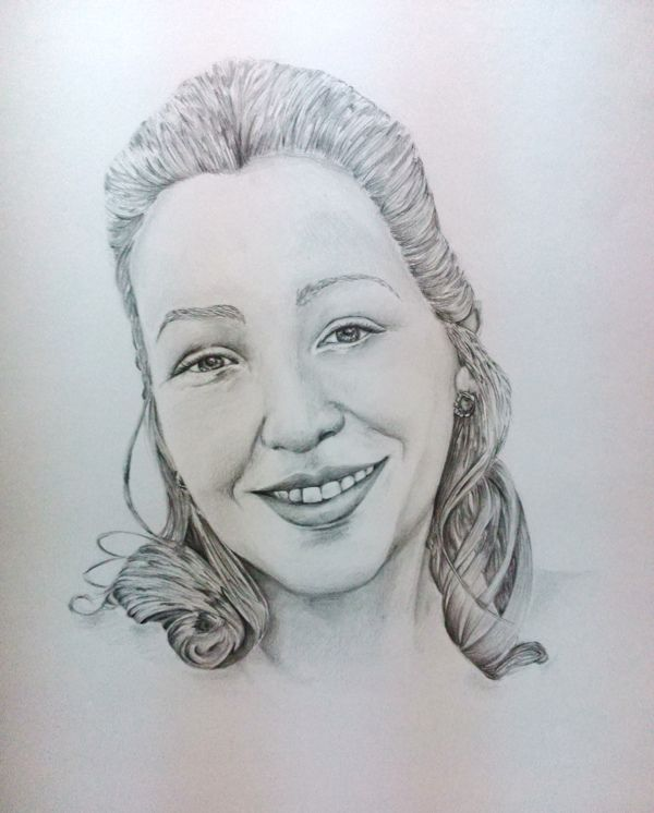 Portraits by Jessica Costa, via Behance