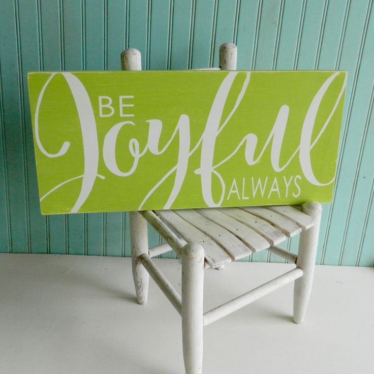 Be Joyful Always sign.  Bible verse art. 1 Thessalonians 5:16. Rustic Scripture sign. Christian decor by TheArtAndSoulShop on Etsy https://www.etsy.com/listing/249510078/be-joyful-always-sign-bible-verse-art-1