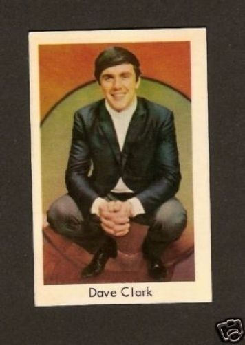 Dave Clark The Dave Clark Five -  1960s Euro Card Look!