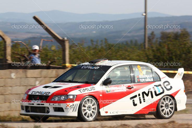 Diogo Salvi/Filipe Carvalho Mitsubishi Lancer Evo VII Castelo Branco 2012