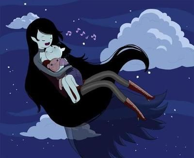 Marceline... is that her mom or her in the future