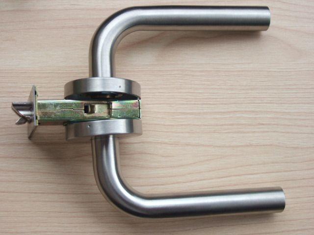 Дверь украшения из нержавеющей стали 304 проход ручкой рычага дверные замки lockset