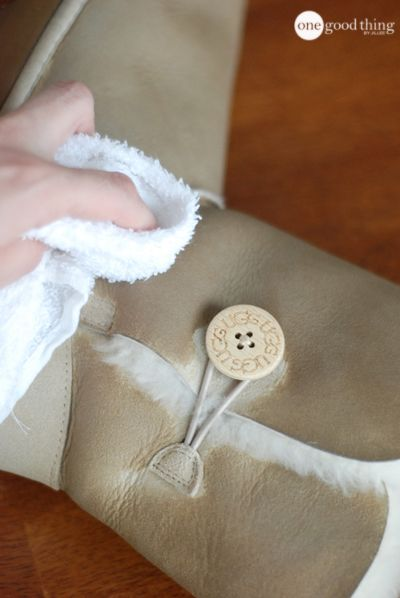 How To Clean And Care For Your UGG Boots At Home - One Good Thing by Jillee