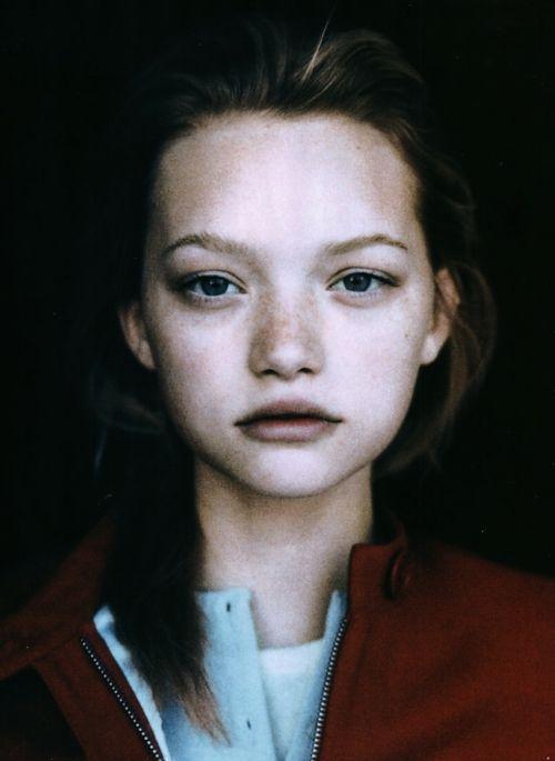 Gemma Ward by Nathaniel Goldberg