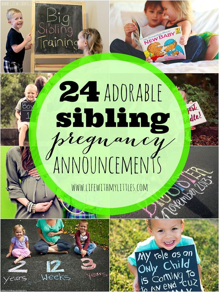 Best 25 Sibling Pregnancy Announcements Ideas On