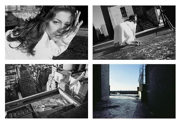 BARBARA PROBST Exposure #5: N.Y.C., 545 8th Avenue, 12.20.00, 2:27 p.m. 2000 ultrachrome ink on cotton paper 4 parts 86 x 130 cm each