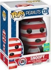 Funko POP! Peanuts - Rock the vote #139 Snoopy (2016 Summer convention Exclusive)