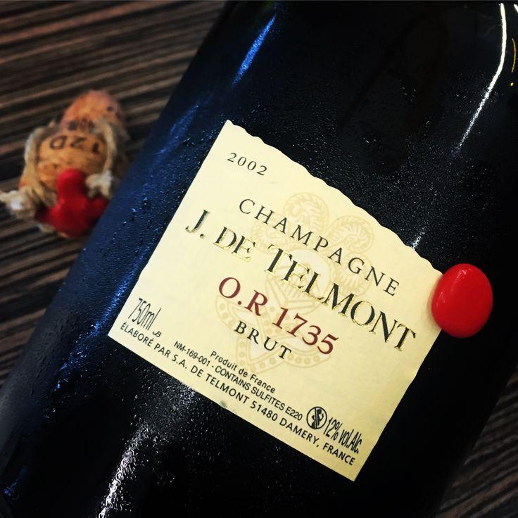 J. de Telmont Brut Champagne O.R. 1735 2002