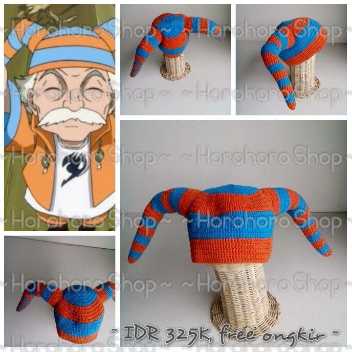 """For sale~topi rajut makarov """"fairy tail""""~handmade~IDR 325K free ongkir"""