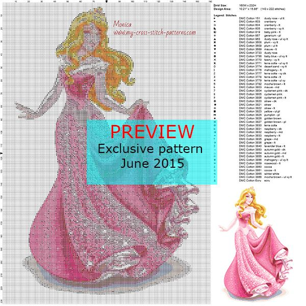 Pin by www my-cross-stitch-patterns com on Monhtly Exclusive Cross