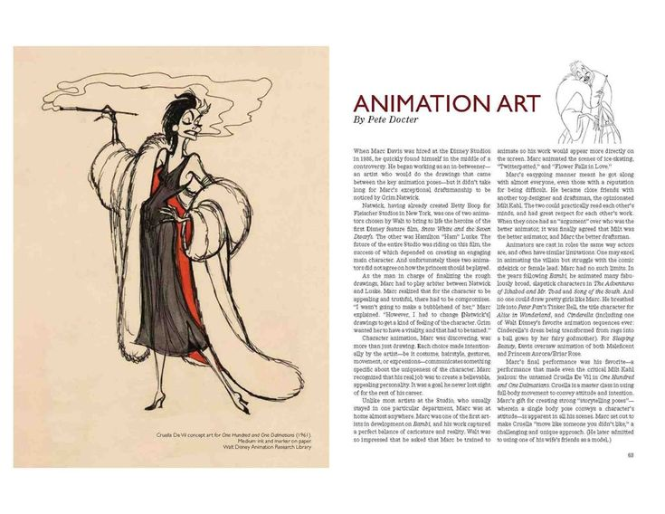 A celebration of Marc Davis--Walt Disney's Renaissance man--who was both an animator and an Imagineer.