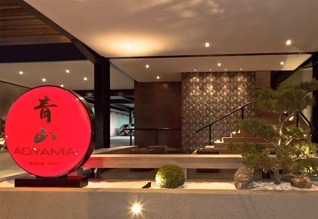 O restaurante japonês AOYAMA possui o melhor rodízio de comida japonesa de São Paulo, SP.