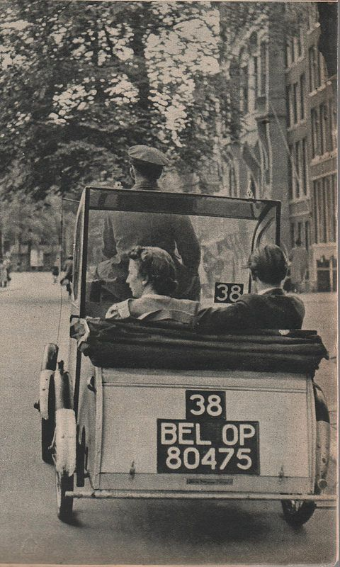 1941. Pony taxi Amsterdam. Preserve your past - Scan old family photos and…