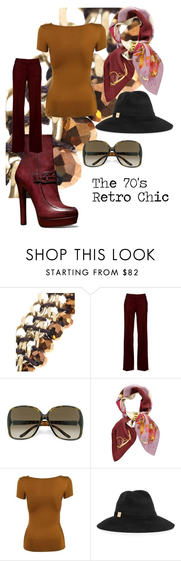 The 70's Retro Chic by mymodette on Polyvore featuring Gucci and Weekend  Max Mara