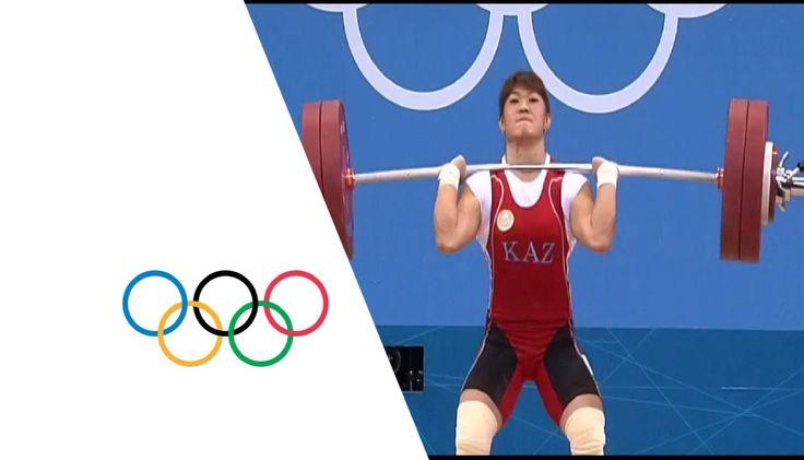 Wins Women's 63kg Weightlifting Gold -- London 2012 weightlifting | Christine Girard