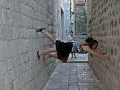 Yes they are sideways, Croatia