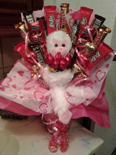 228 best Valentines Day Ideas images on Pinterest | Candy bouquet ...