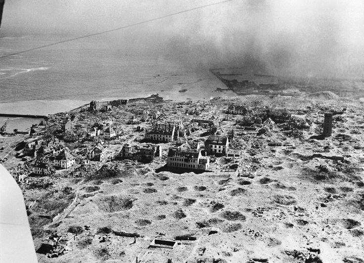 Geschundenes Eiland:  Dreimal hatten die Briten Helgoland im Vorfeld der...