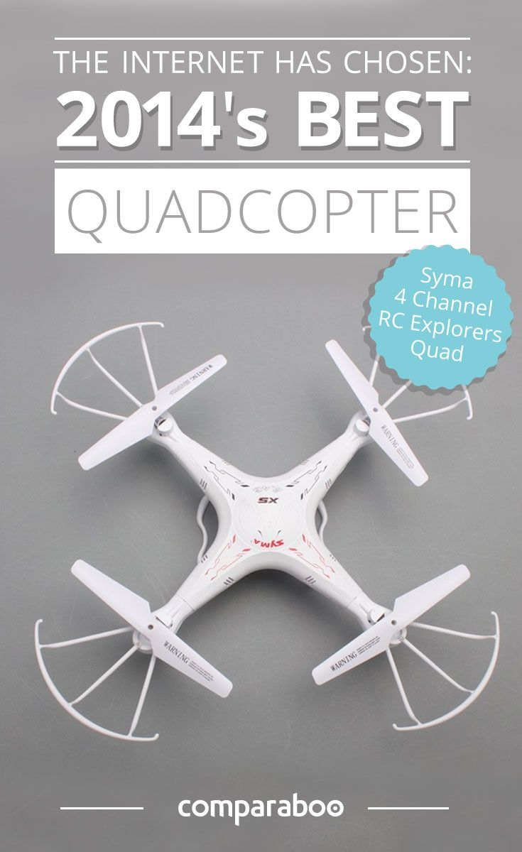 This quadcopter rocks! Check out the other 9 best rated quadcopters this winner outflew in 2014 to take the top spot. www.comparaboo.com