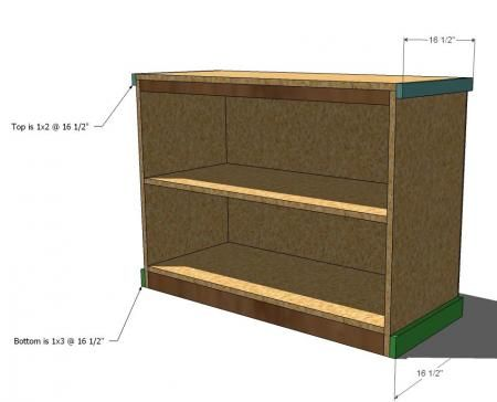 Build your own office wide bookcase base diy How deep should a bookshelf be