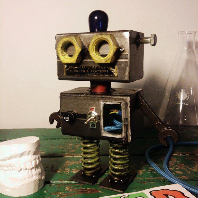 #toydesign #robot #handmade #industrial