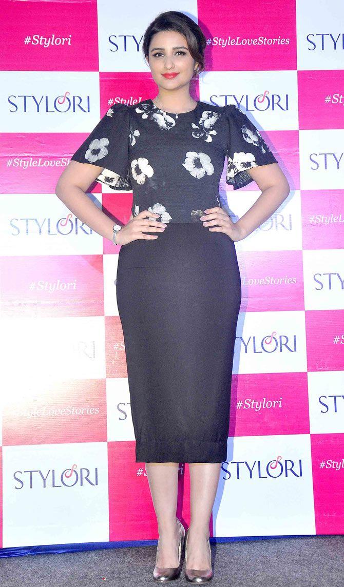 Parineeti Chopra at the launch of online jewellery store Stylori. #Bollywood #Fashion #Style #Beauty