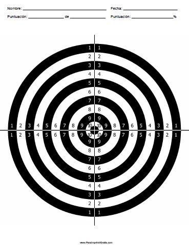 campo de tiro al blanco aficionado libre