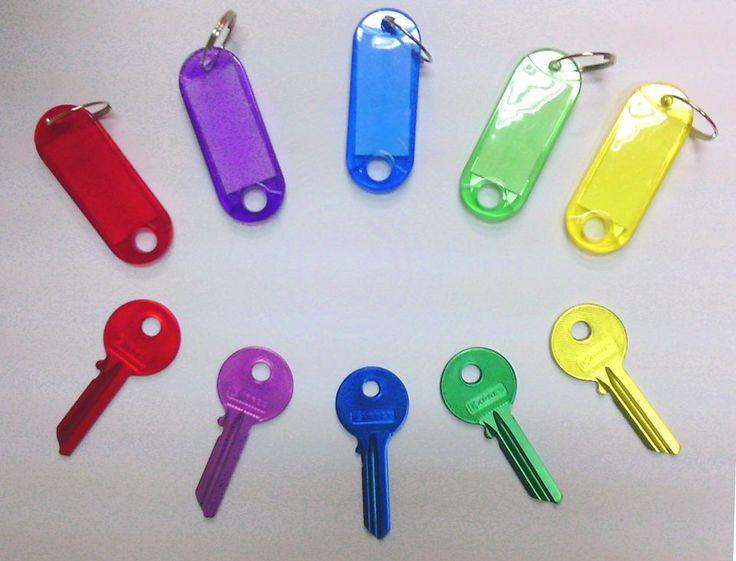 COLORFULL KEYS / Kolorowe klucze :)