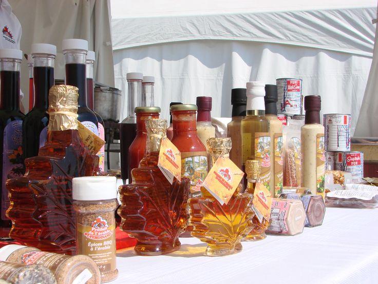 Les produits de l'érable St-Ferdinand aux Délices d'automne 2013