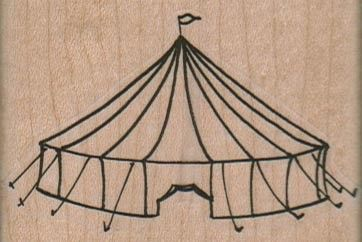 circus tent sketch