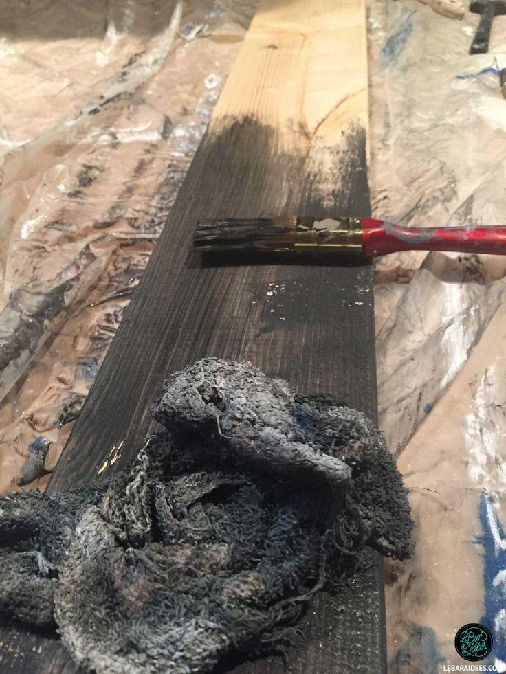 Un mur en imitation de bois de grange – thomas pelette