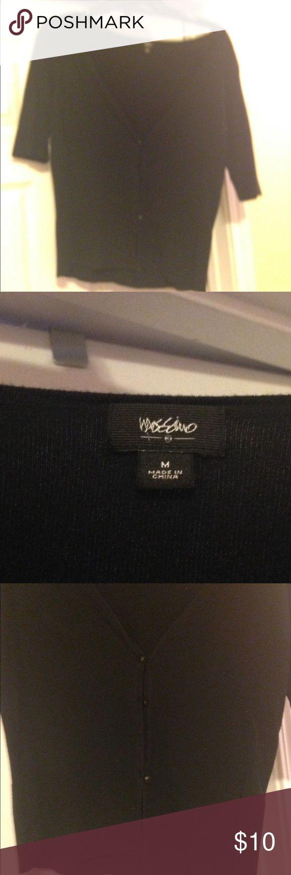 Mossimo Black V-Neck Cardigan Mossimo Black V-Neck Cardigan. Size Medium. Perfect condition. Mossimo Supply Co Sweaters Cardigans