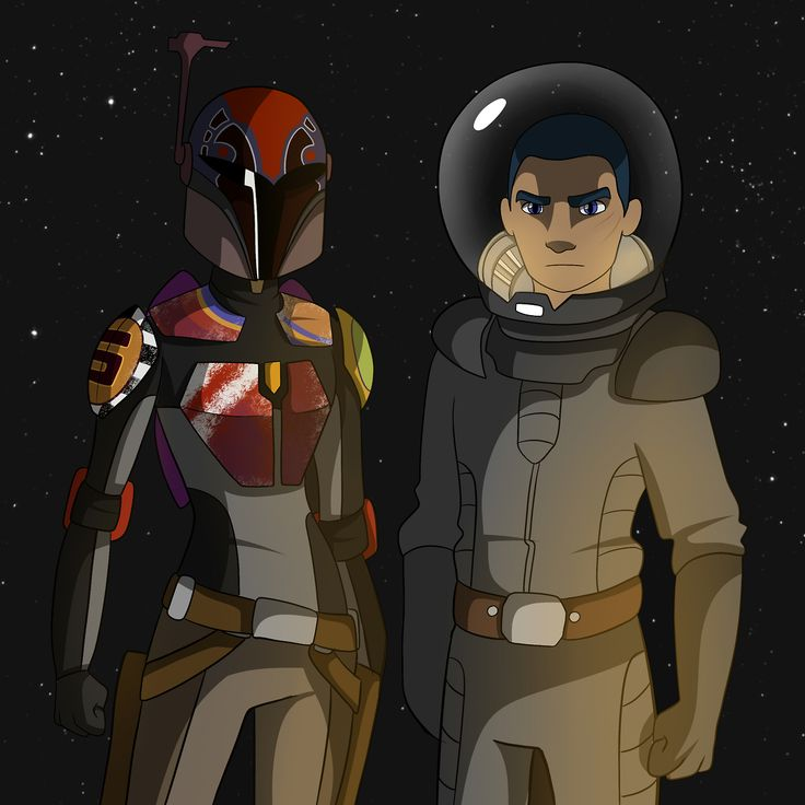 364 best Ezra Bridger and Sabine Wren - Sabezra images on ...