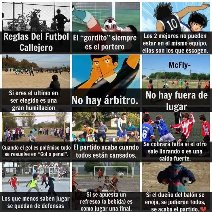 Futbol de Locura: Meme del Día: Reglas del Fútbol callejero #futbolmemes