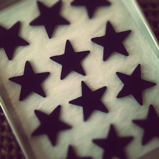 Perfect Dark Chocolate Sugar Cookie by Sweetapolita