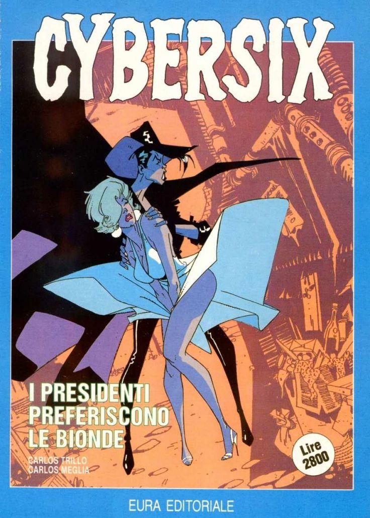Cybersix #2 - I Presidenti Preferiscono le Bionde (Issue)