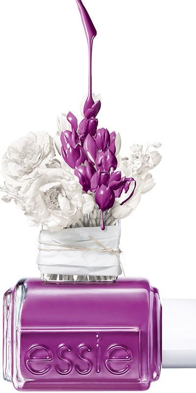 """Trust me, this stylish bunch will please any flowerista!"", Essie spring 2015"