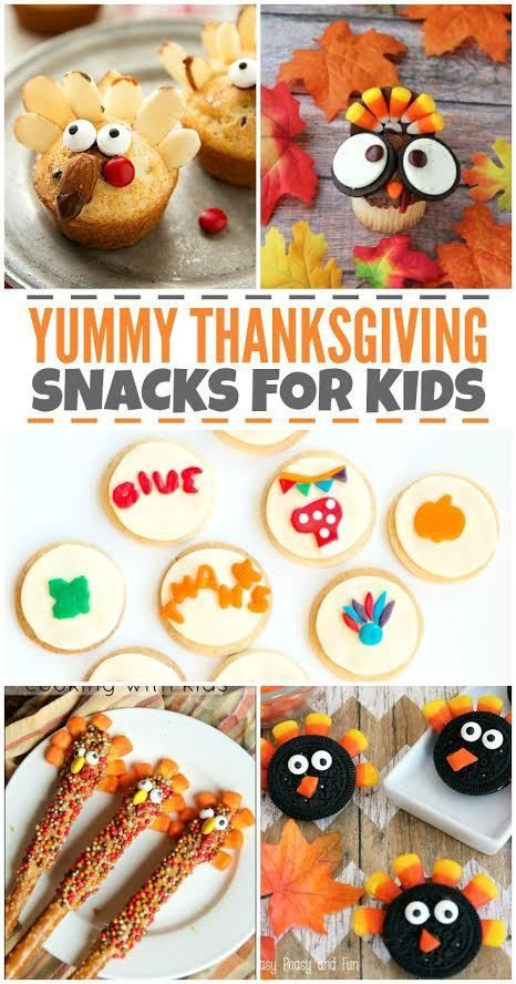 Looking for some creative Thanksgiving snacks and Turkey treats for kids? We have some great recipe ideas for your upcoming feast!