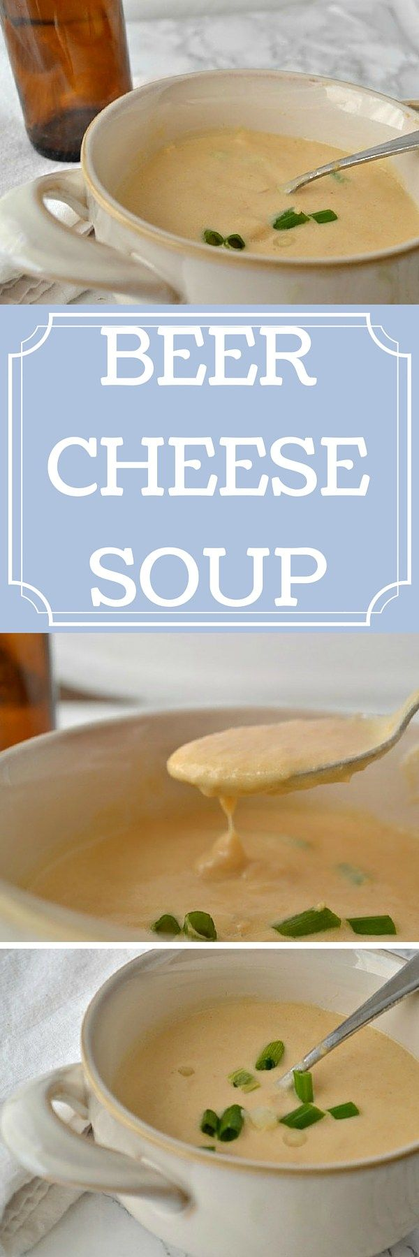 This beer cheese soup recipe is the ultimate comfort food! Make it for football watching, or on cold nights or for a tasty lunch treat.