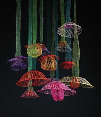 Arline Fisch crochet art