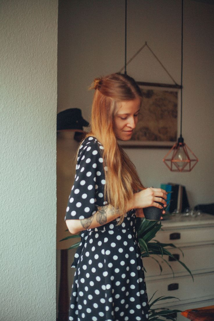 #jumpsuit #playsuit #polkadots #home #living #slowliving #lifestyle #photography #tattoos #portrait