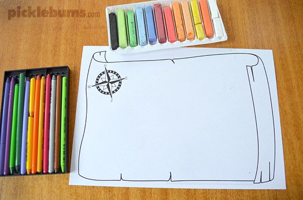 Mapmaker Drawing Prompt - make your own maps with this  free printable drawing prompt